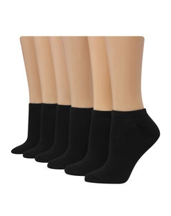 Hanes Women's Cool Comfort® Cushioned No Show Socks, 6-Pack