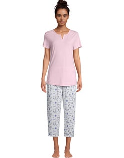 Goodnight Kiss Pastels Over Paris Capri Sleep Set