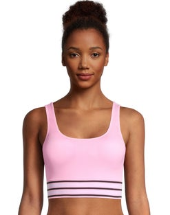 Easy There Bralette With Striped Band