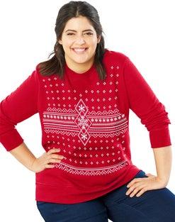 JMS Crewneck Ugly Sweatshirt