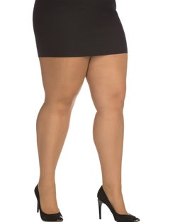 Just My Style Day Sheer Control Top Pantyhose, Enhanced Toe 3-Pack