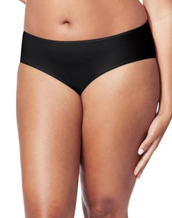 JMS Cool Comfort Cotton Stretch Hipster Panties, 5-Pack