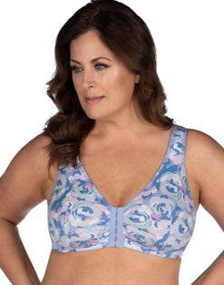 Leading Lady Cotton Front Hook Leisure Bra