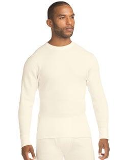 Hanes Beefy™ Men's Organic Cotton Thermal Crew