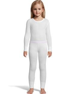 Hanes X-Temp™ Girls' Organic Cotton Thermal Set