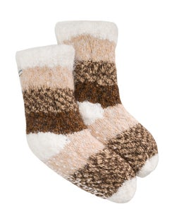 Dearfoams Women's Eyelash Knit Flurry Sock Slipper