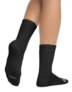 Hanes Women's Cool Comfort® Crew Socks 6-Pack