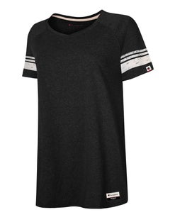 Champion Women's Triblend Varsity Tee