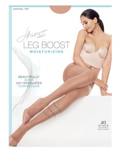 Hanes Leg Boost Moisturizing Hosiery