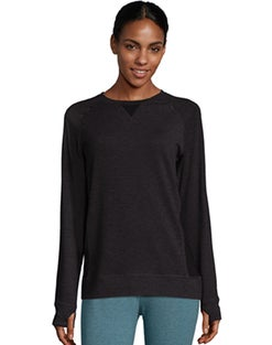 Warm & Cuddly by Cuddl Duds Women's Performance Fleece Crew