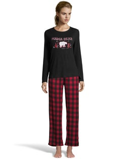 Dearfoams Women's Mama Bear PJ Set