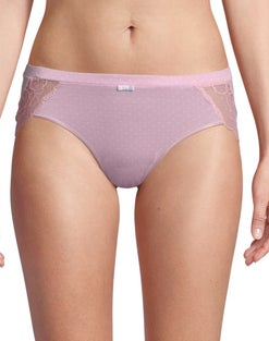 Bali Lace Desire® Cotton Hipster Panty