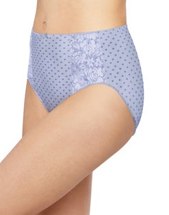 Bali Double Support Hi-Cut Panty, 3-Pack
