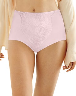 Bali Lace Panel Shaping Brief 2-Pack