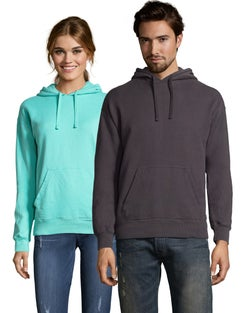 Hanes Adult ComfortWash™ Garment Dyed Fleece Hoodie Sweatshirt