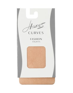 Hanes Curves Fishnet Tights