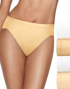Hanes Ultimate™ Cool Comfort™ Women's Hi-Cut Panties 4-Pack