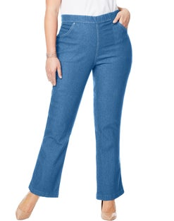 JMS 4-Pocket Bootcut Jeans, Average Length