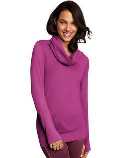 Maidenform Sport Baselayer Thermal Cowl Neck Tunic