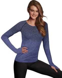 Maidenform Sport Baselayer Thermal Crewneck Top