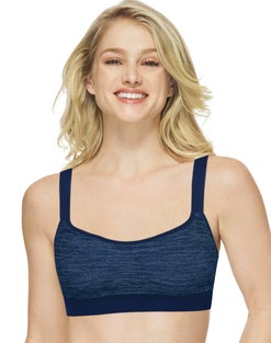 Hanes Reversible Smoothtec® Wirefree Bra