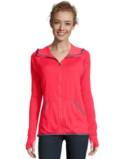 Hanes Sport™ Women's Performance Fleece Zip Up Hoodie