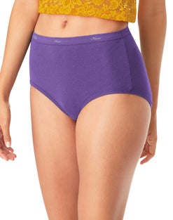 Hanes Cool Comfort™ Women's Plus Cotton Brief Panties 5-Pack