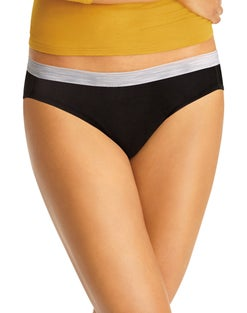 Hanes Cool Comfort® Women's Cotton Sporty Bikini 6-Pack