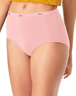Hanes Women's Cotton Assorted Briefs 10-Pack