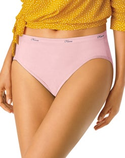 Hanes Women's Hi-Cut Panties 10-Pack
