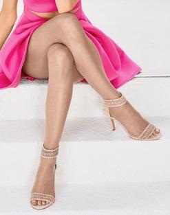 Hanes Silk Reflections Ultra Sheer Toeless Control Top Pantyhose