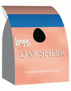 L'eggs Day Sheer Regular, Sheer Toe Pantyhose 4-Pack