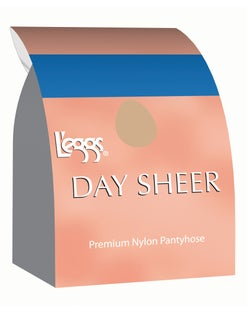 L'eggs Day Sheer Control Top, Sheer Toe Pantyhose 4-Pack