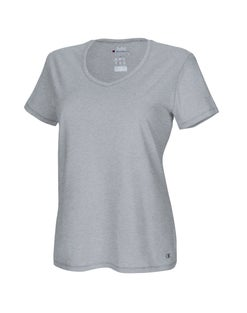 Plus Jersey V-Neck Tee