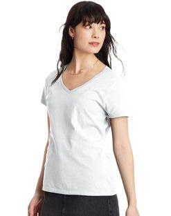 Hanes Women's Nano-T® V-Neck T-Shirt
