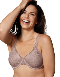 Playtex Secrets Beautiful Lift Embroidered Underwire Bra