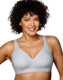 Playtex 18 Hour 474C Cotton Stretch Ultimate Lift & Support Wirefree Bra
