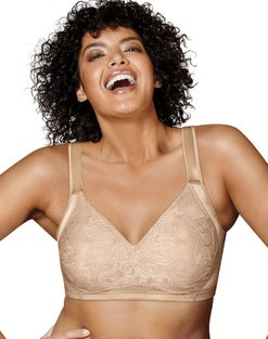 Playtex 18 Hour 4912 Undercover Slimming Wirefree Bra