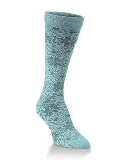 World's Softest® Snowfall Crew Socks