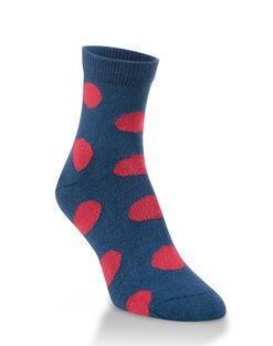 World's Softest® Sweet Pea Quarter Socks
