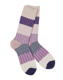 World's Softest® Gallery Crew Socks