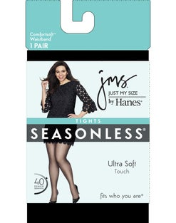 Just My Size Seasonless Tights, 1-Pair